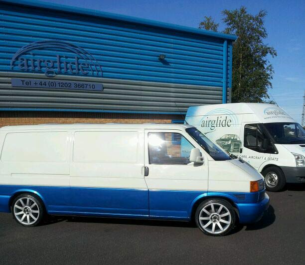 Vw T4 Campervan Paint Protection Application