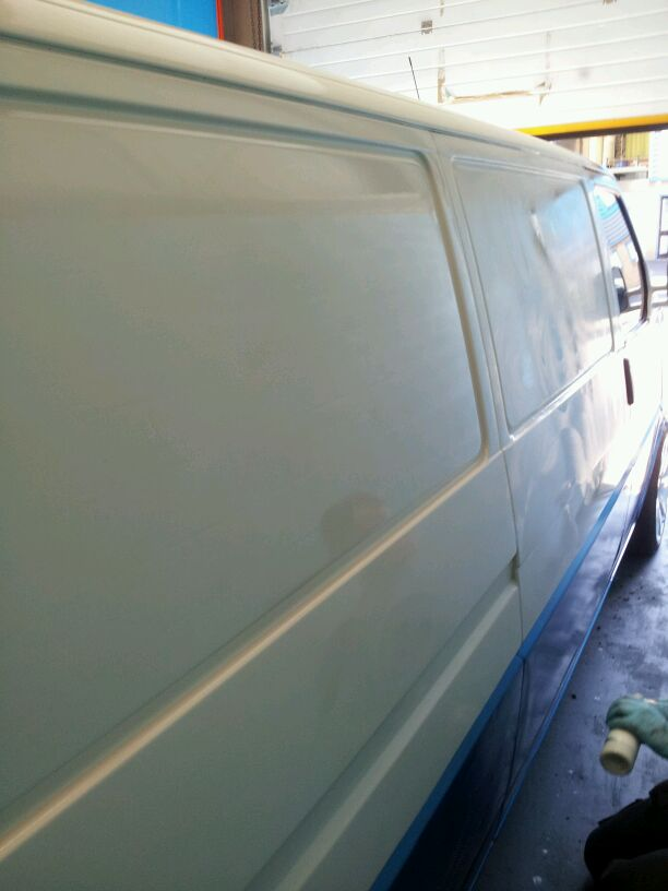 Airglide Paint Protection Application